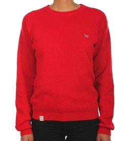 Iriedaily Iriedaily, Comb Knit, scarlet red, S