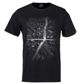 ZRCL ZRCL,  T-Shirt Photo Forest, black, S