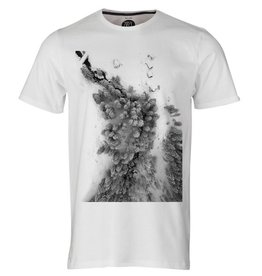ZRCL ZRCL,  T-Shirt Photo Forest, white, S