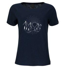 ZRCL ZRCL, W T-Shirt Sunrise, blue slub, L