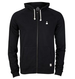 ZRCL ZRCL, Zip Hoodie Ghost, black, S