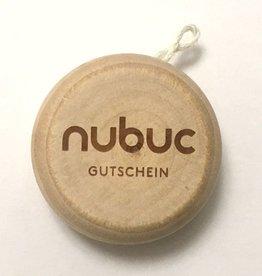 NUBUC Jo-Jo Gutschein, CHF 50