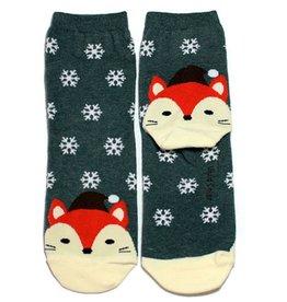 Cutie Socks Cutie Socks, Snowy on the Toe, Fuchs