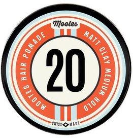 Mootes, Haarpomade, #20 Matt Clay, 120 gramm