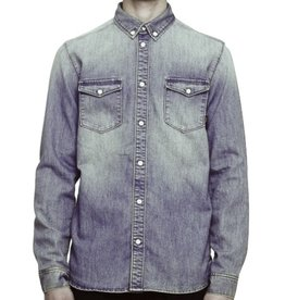 WESC WESC, Maccoy Denim Shirt, Washed Out, S