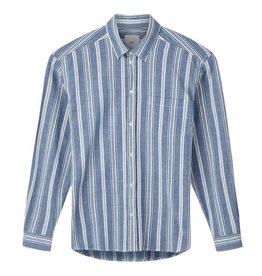 Minimum Minimum, Folk Shirt, navy blazer, S