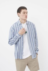 Minimum Minimum, Folk Shirt, navy blazer, S