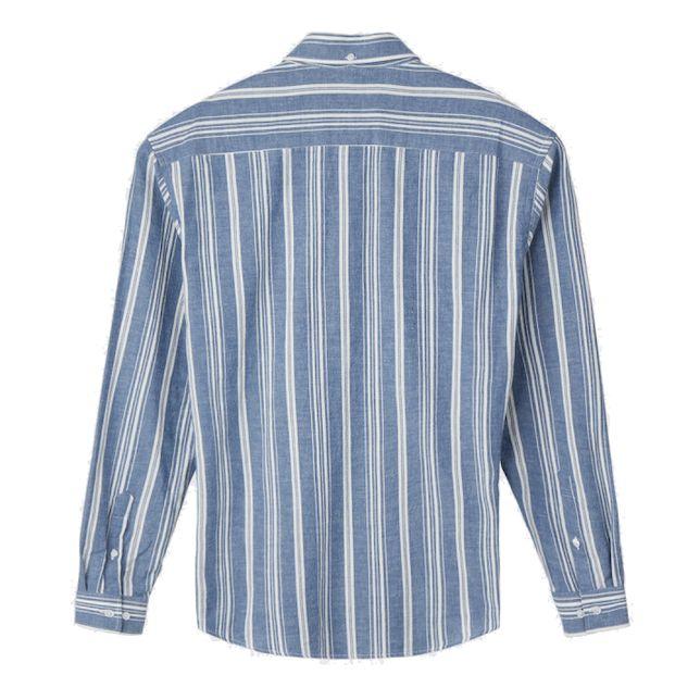 Minimum Minimum, Folk Shirt, navy blazer, L
