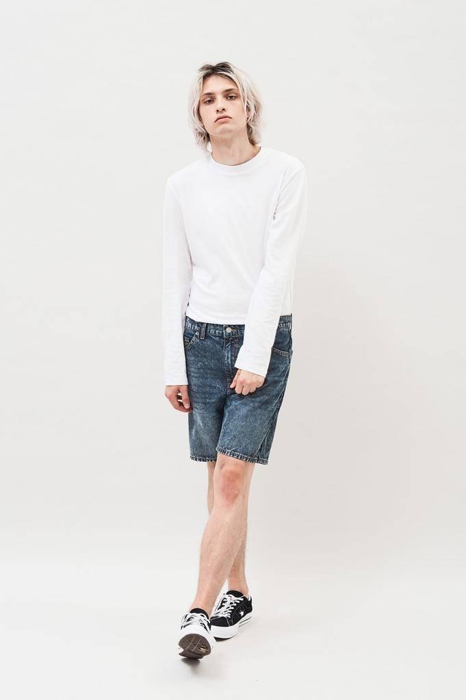 Dr. Denim, Bay Shorts, asphalt blue, 31