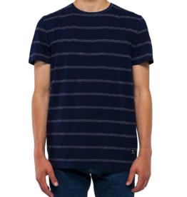 RVLT RVLT, 1109 striped T-Shirt, navy, S