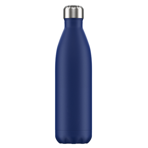 Chilly's Chilly's Bottles, Matte Edition, blue, 750ml