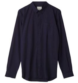 Minimum Minimum, Jay 2.0 Shirt, indigo blue, M