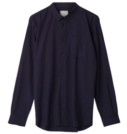 Minimum Minimum, Jay 2.0 Shirt, indigo blue, XL