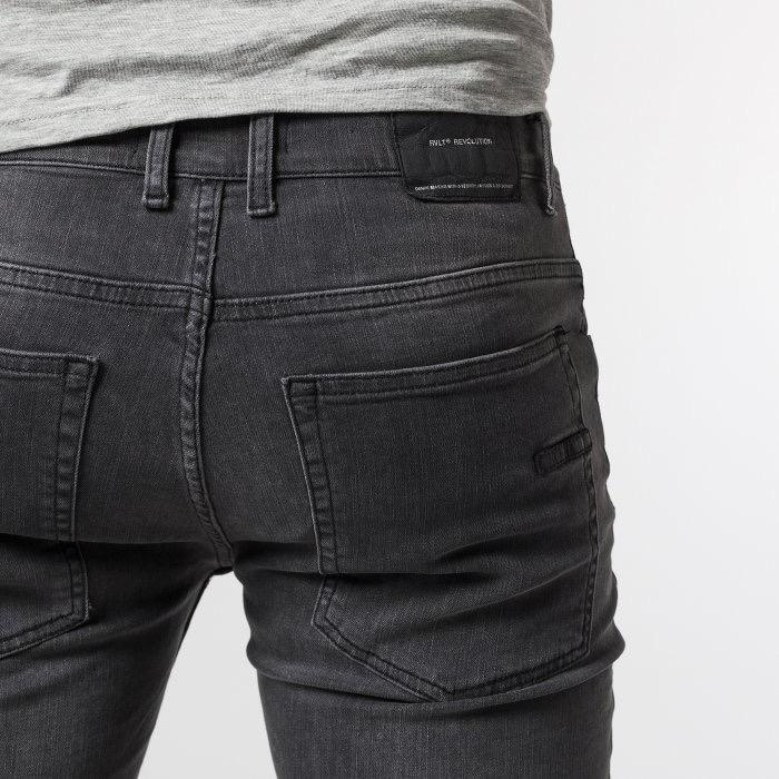 RVLT RVLT, 5473  Denim Shorts, grey, 30