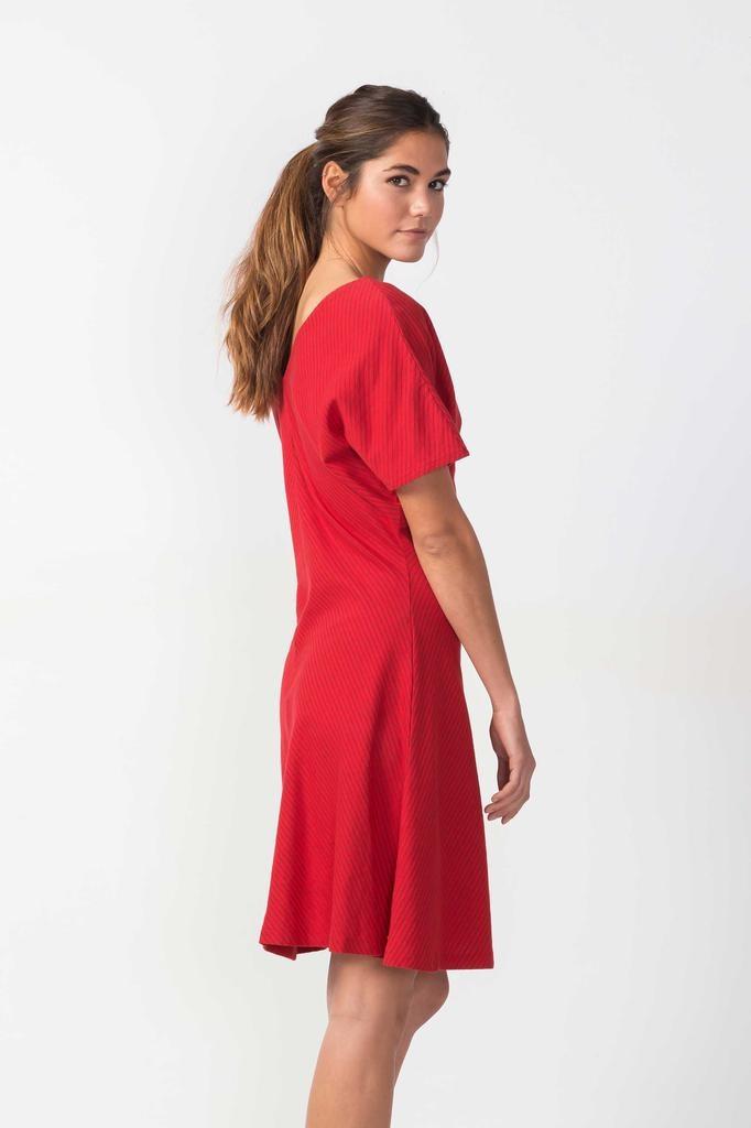 Skunkfunk Skunkfunk, Ihatea Dress, red, XS (36)