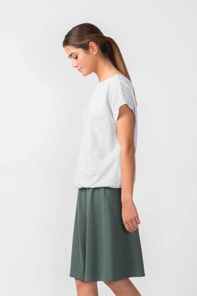 Skunkfunk Skunkfunk, Orie T-Shirt, white, M (40)