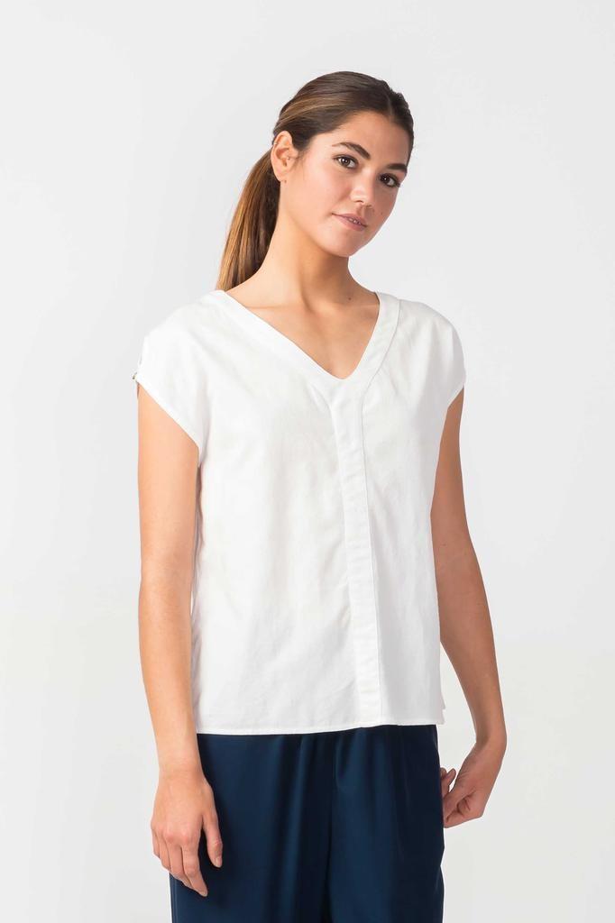Skunkfunk Skunkfunk, Latsa T-Shirt, white, L (42)