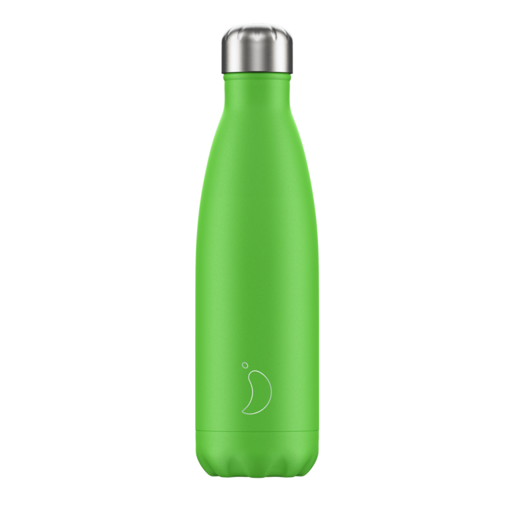 Chilly's Chilly's Bottles, Neon Edition, green, 500ml
