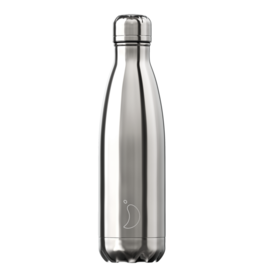Chilly's Chilly's Bottles, Chrome Silver, 500ml
