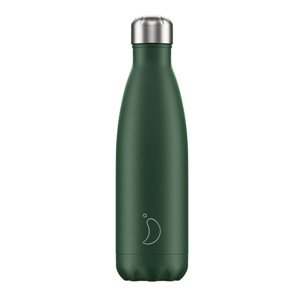 Chilly's Chilly's Bottles, Matte Edition, green, 500ml