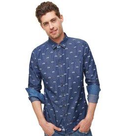 Einstoffen Einstoffen, Gino Bartali Hemd, blau, S