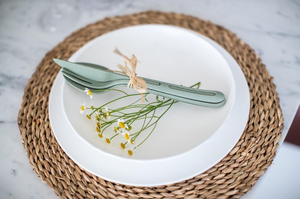 Koziol Koziol, Besteckset KliKK , organic green