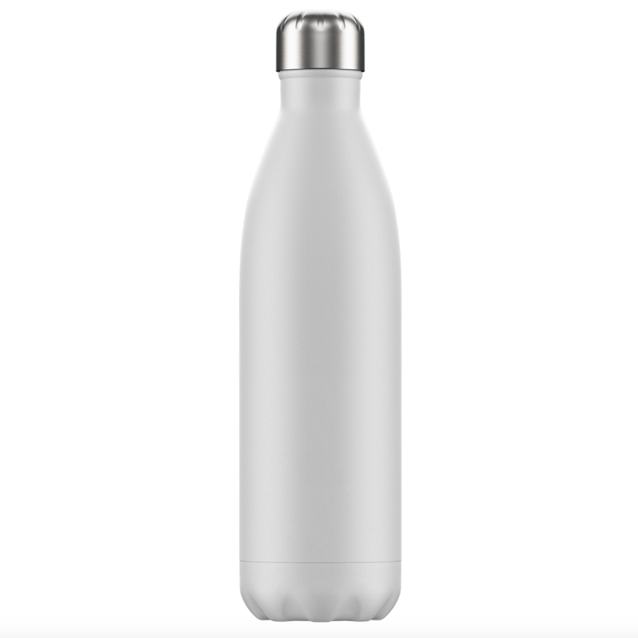 Chilly's Chilly's Bottles, Matte Edition, white, 750ml