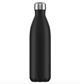 Chilly's Chilly's Bottles, Matte Edition, black, 750ml
