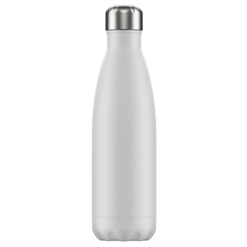 Chilly's Chilly's Bottles, Monochrome Edition, white, 500ml
