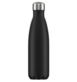 Chilly's Chilly's Bottles, Matte Edition, black, 500ml