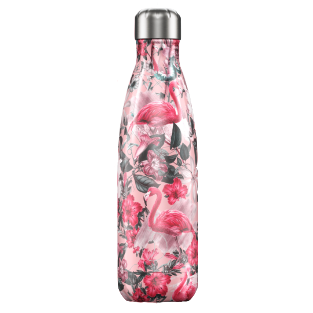 Chilly's Chilly's Bottles, Tropical Flamingo, 500ml