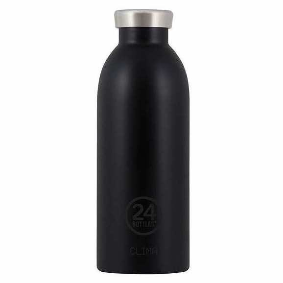 24 bottles 24 Bottles, Thermosflasche, tuxedo black, 500