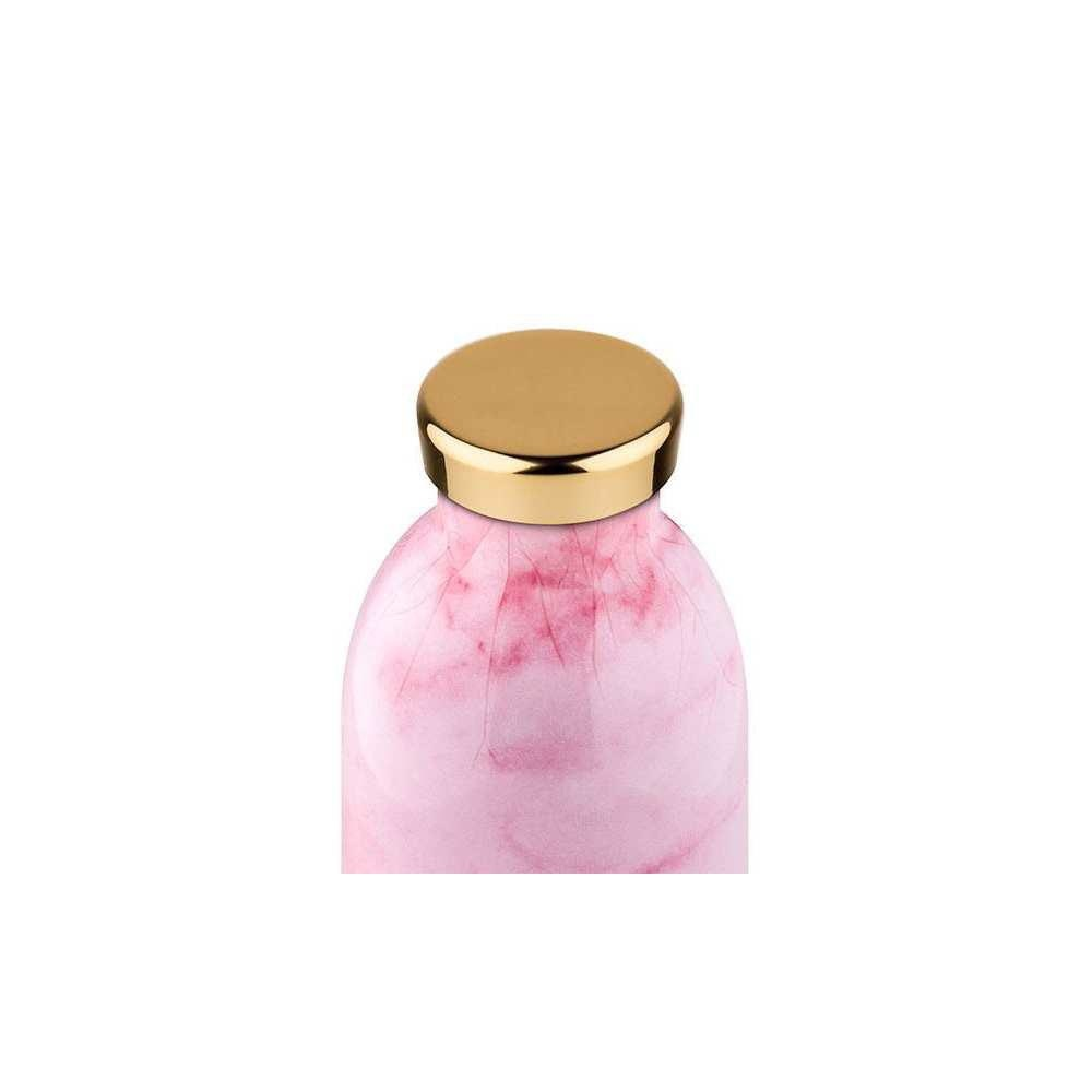 24 bottles 24 Bottles, Thermosflasche, pink marble, 500