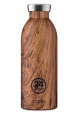 24 bottles 24 Bottles, Thermosflasche, sequoi wood, 500
