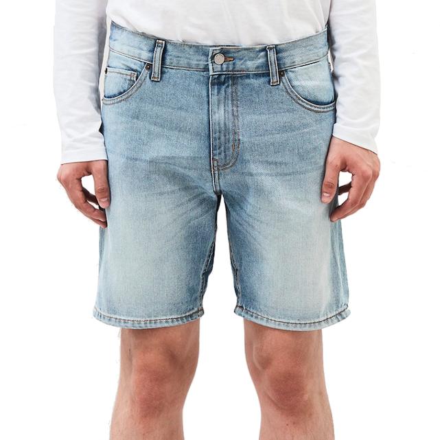 Dr. Denim, Bay Shorts, steel blue, 34