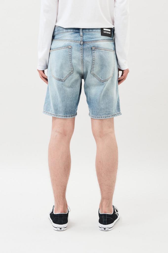 Dr. Denim, Bay Shorts, steel blue, 33