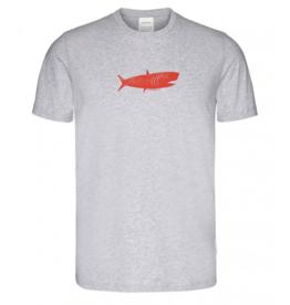 Armedangels, Jaames Big Fish, grey melange, L