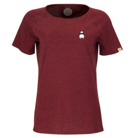 ZRCL ZRCL, W T-Shirt Ghost,dark wine, L