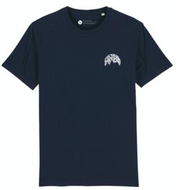 Ginga Ginga, Mountains T-Shirt, navy, M