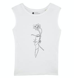 Ginga Ginga, Frida T-Shirt, off white, S