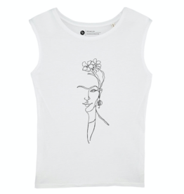 Ginga Ginga, Frida T-Shirt, off white, M