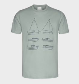 Armedangels, Jaames Six Boats, chinois green, S