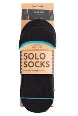 URU URU, Solosocks Blackies No-Shows, 36-40