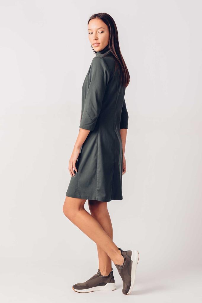 Skunkfunk Skunkfunk, Kora Dress, olive, S (38)
