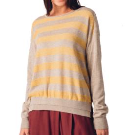 Skunkfunk Skunkfunk, Ide Sweater, beige/yellow, S (38)