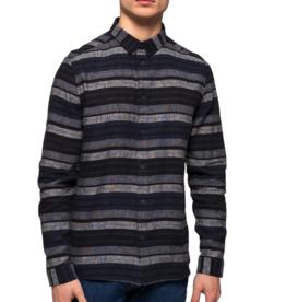 RVLT RVLT, 3724 Striped Shirt, navy, S