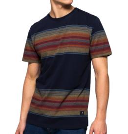 RVLT RVLT, 1146 Stripe T-Shirt, navy, S