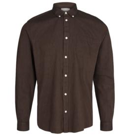 Minimum Minimum, Jay 2.0 Shirt, potting soil, XL