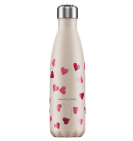 Chilly's Chilly's Bottles, Bridgewater, pink hearts, 500ml