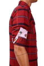 Einstoffen Einstoffen, Nick Sax Hemd, rot, L